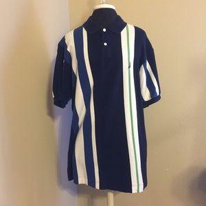 Nautica Striped Polo